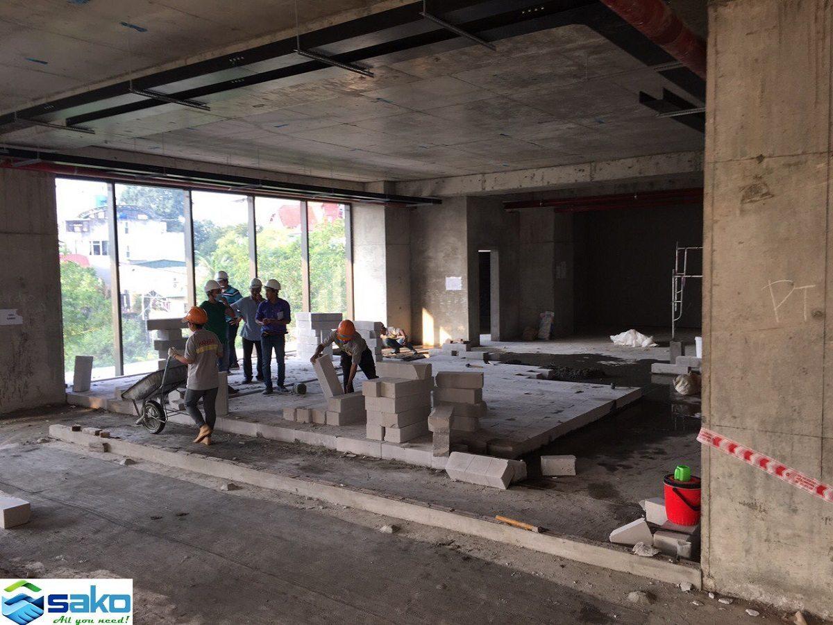 , Gạch bê tông nhẹ tại Hà Nội, Gạch nhẹ giá tốt, Gạch E block, Gạch E-block, Gach không nung.