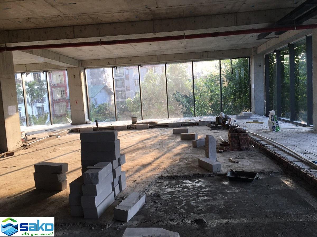 Gạch bê tông nhẹ tại Hà Nội, Gạch nhẹ giá tốt, Gạch E block, Gạch E-block, Gach không nung.