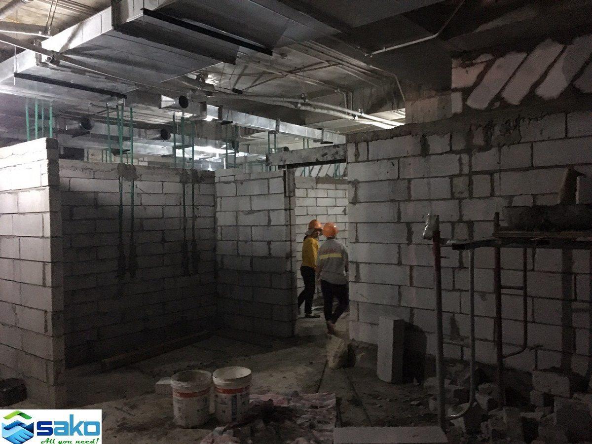 Gạch chưng áp, Gạch AAC, Gạch bê tông nhẹ tại Hà Nội, Gạch nhẹ giá tốt, Gạch E block, Gạch E-block, Gach không nung.