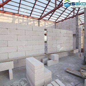 Xây nhà xưởng bằng gạch siêu nhẹ AAC