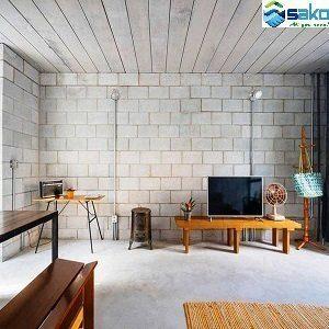 Nhà xây bằng Gạch bê tông nhẹ AAC