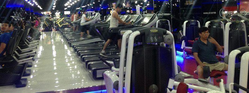 Club của Cali Pico Hà Nội - Sàn tập Gym bằng gạch siêu nhẹ AAC