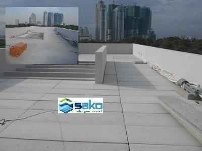 Tấm panel ALC có lõi thép xây mái bê tông