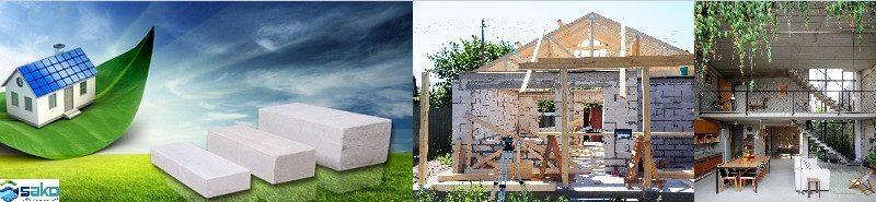 Tính năng của gạch bê tông nhẹ AAC trong xây dựng