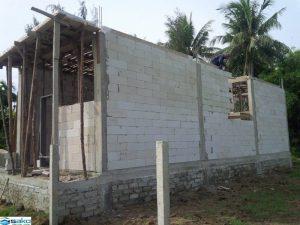 Nhà xây bằng gạch siêu nhẹ | gạch không nung