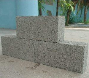 Gạch xi măng cốt liệu, gạch block dạng khuôn đặc