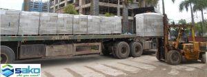 Cung cấp gạch bê tông nhẹ AAC tới các công trình