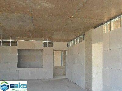 Hình ảnh sử dụng tấm panel LC không lõi thép xây tường