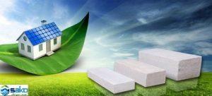 Các mẫu gạch nhẹ AAC thân thiện với môi trường
