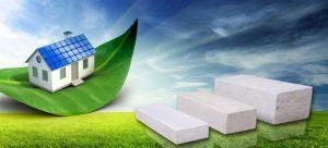Vật liệu bê tông nhẹ thân thiện với môi trường