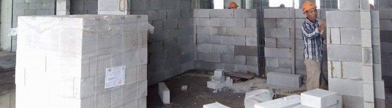 Lưu ý khi thi công gạch siêu nhẹ AAC (gạch bê tông nhẹ)