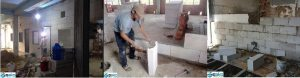 Nhà trọ được xây bằng gạch siêu nhẹ AAC tiết kiệm chi phí