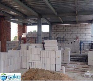 Gạch nhẹ dùng để xây nhà xưởng, nâng nền