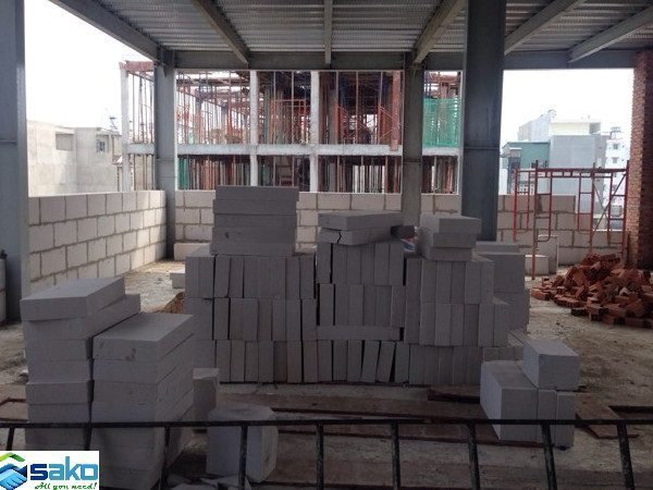 Vật liệu xây không nung, gạch bê tông nhẹ