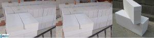 Các mẫu gạch bê tông nhẹ | vật liệu xây không nung