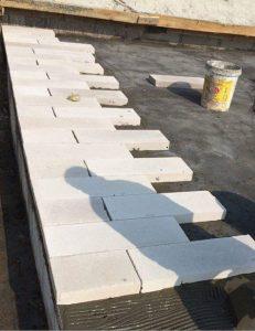 Gạch siêu nhẹ chống nóng sân mái, chống nóng vách tường hướng Tây