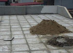 Một số cách chống nóng sân mái bê tông, mái bằng