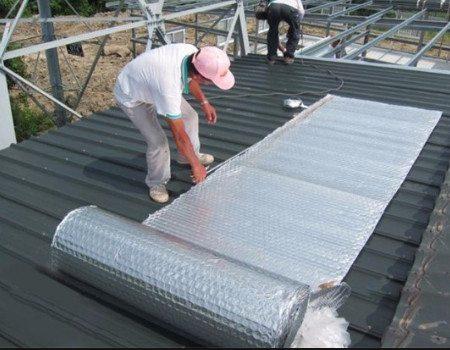 Một số biện pháp chống nóng sân mái thông dụng
