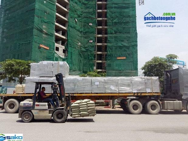 cung cấp gạch bê tông siêu nhẹ AAC tại các tỉnh