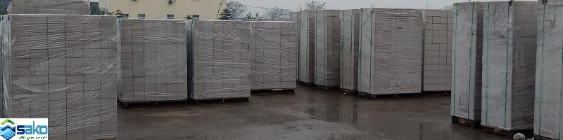 Công trình nhà ở, nhà xưởng sử dụng gạch siêu nhẹ AAC