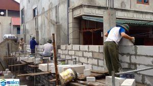 Nền đất yếu cần dùng gạch siêu nhẹ để xây nhà