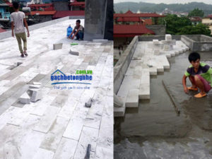 Gạch chống nóng siêu nhẹ sân mái