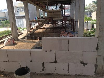 Xây nhà xưởng bằng gạch chống nóng, chống cháy