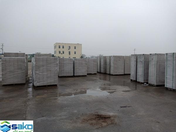 Nhà máy gạch siêu nhẹ AAC SAKO Việt Nam