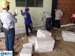 Gạch AAC xây nhà trọ giải pháp kinh tế tốt nhất