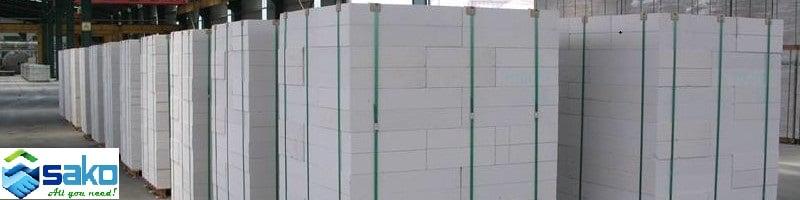 Kinh nghiệm lựa trọn gạch bê tông nhẹ xây nhà