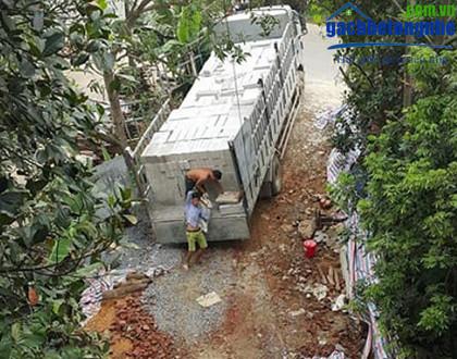 Vận chuyển gạch aac, gạch siêu nhẹ aac tại Hà Nội