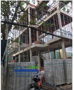 Văn phòng làm việc gạch bê tông nhẹ AAC | Gạch Eblock tại TP HCM