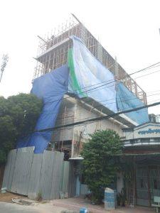 Khách sạn tại TP HCM đang xây dựng bằng gạch E-block