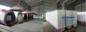 Dây truyền sản xuất gạch siêu nhẹ AAC tại Hà Nội và các tỉnh miền Bắc