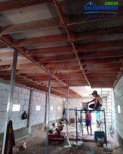 Nhà nuôi chim yến được xây bằng gạch siêu nhẹ AAC hay còn gọi gạch E-block
