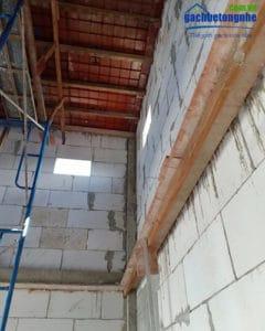 Gạch AAC, gạch bê tông nhẹ AAC được sử dụng để xây nhà nuôi chim yến hiệu quả