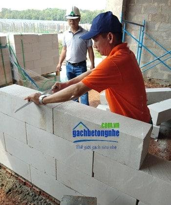 Đặc tính của gạch siêu nhẹ AAC