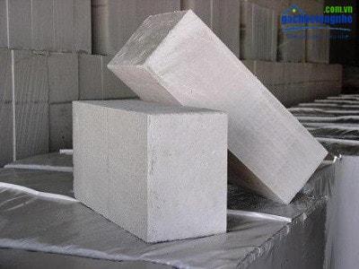 Gạch siêu nhẹ AAC kích thước 600x200x200mm