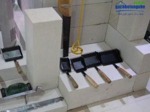 Dụng cụ thi công gạch siêu nhẹ