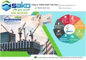 Hình ảnh dự án xây dựng do SAKO Việt Nam thực hiện