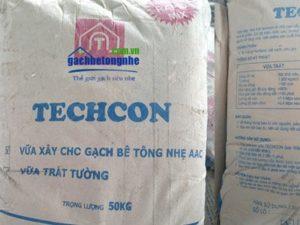 Vữa xây gạch bê tông nhẹ | gạch siêu nhẹ AAC chuyên dụng