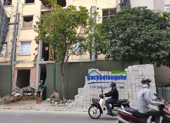 Sửa chữa nhà cũ bằng gạch AAC, gạch siêu nhẹ AAC