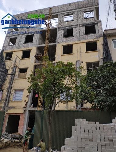 Sử dụng gạch AAC để cải tạo nhà cũ