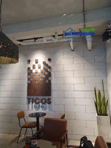 Thiết kế cement render bằng gạch AAC