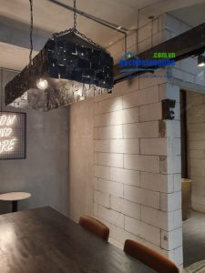 Thiết kế quán cafe Ticos Coffee