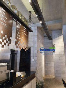 Thiết kế bên trong cafe ticos