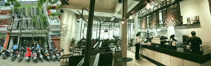 Thiết kế concept quán cafe ấn tượng cùng Gạch AAC