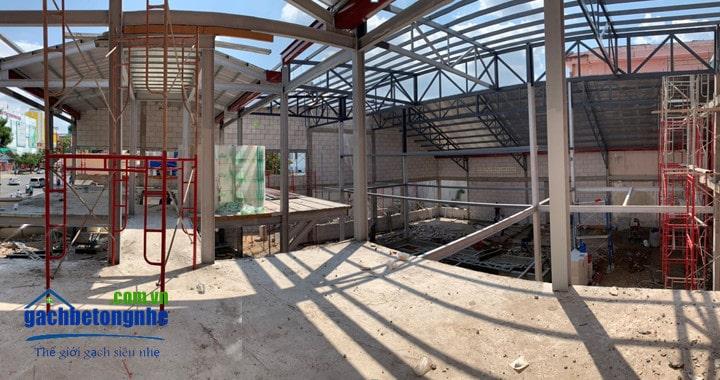 Công trình đẹp xây bằng gạch nhẹ AAC