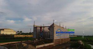 Xây dựng xanh với gạch siêu nhẹ