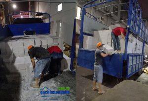 Vận chuyển gạch bê tông nhẹ tại Hà Nội